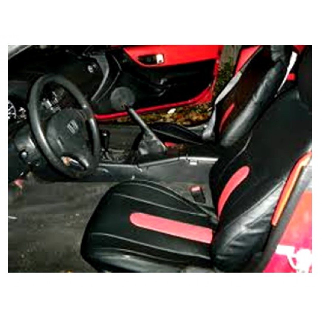 SHOP HONDA CR-X 2 RED CENTER WITH BLACK FRONT COVER