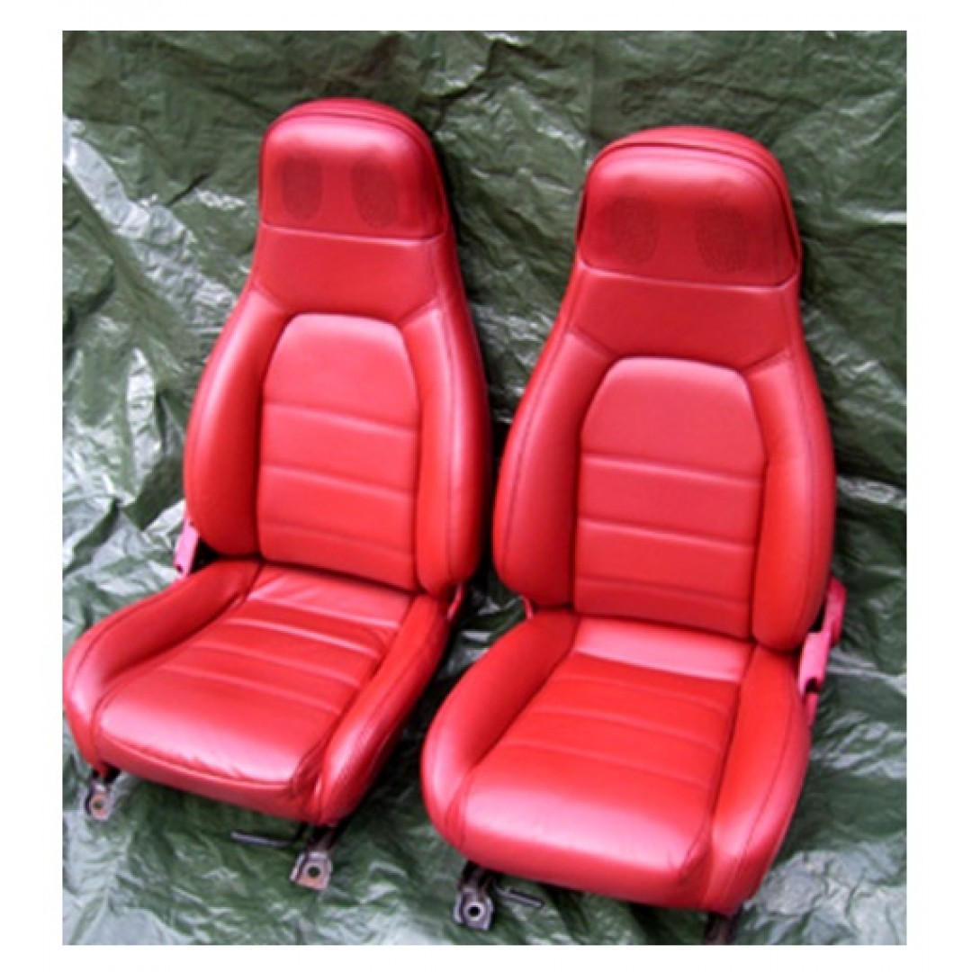 GET THE BEST QUALITY MAZDA Mx5 Mk1, FRONT RED SEAT COVER