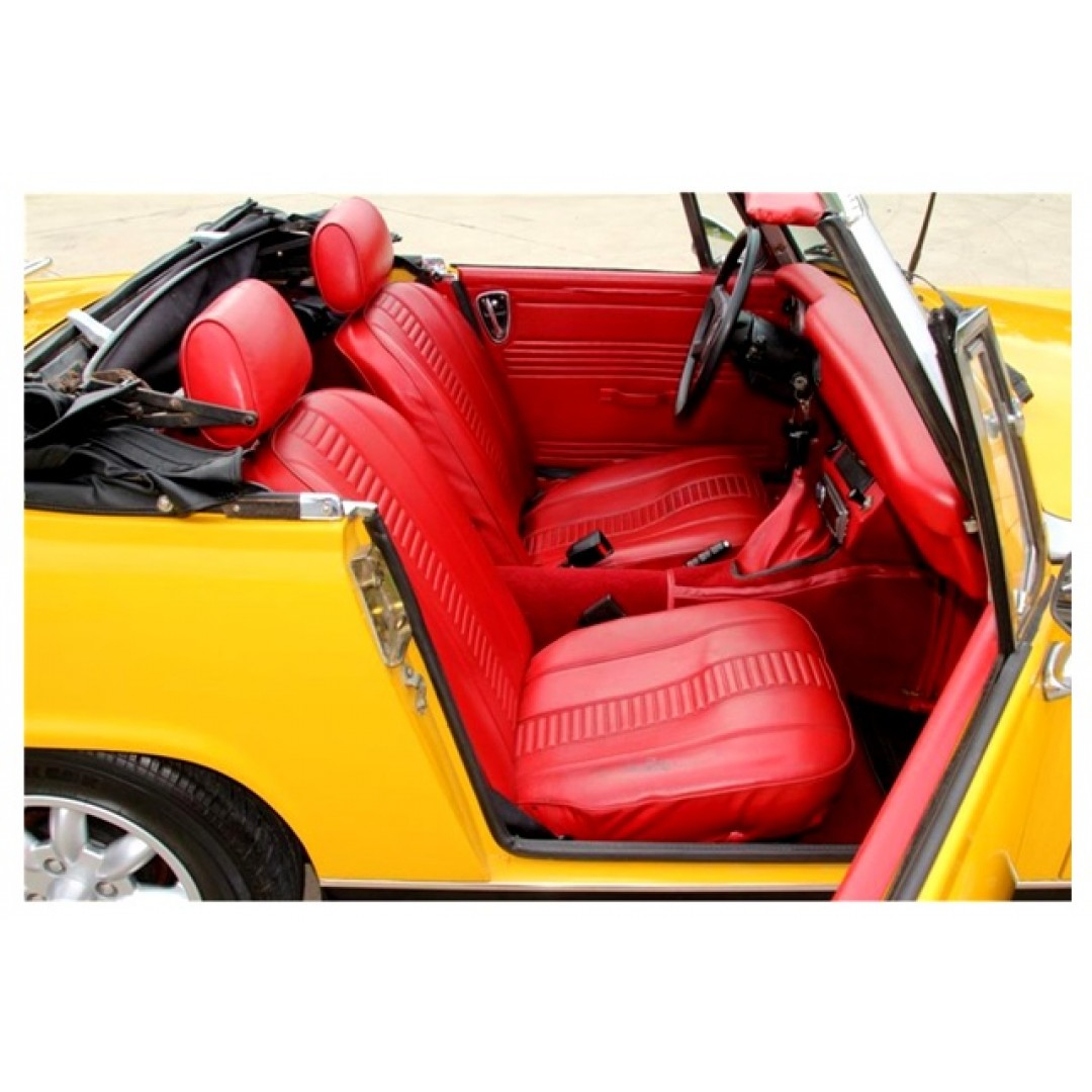 GET QUALITY MG MIDGET Mk1 RED FRONT SEAT COVER | SHOP NOW